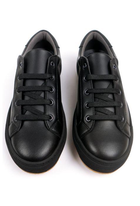 WILL'S NY Black Wegańskie Sportowe Buty Damskie
