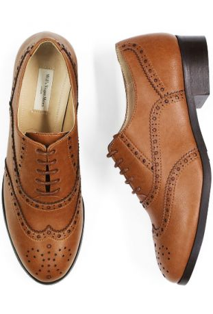 OXFORD BROGUES TAN