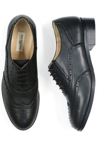 OXFORD BROGUES BLACK