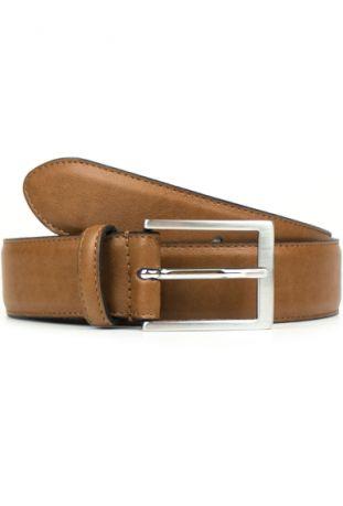 WILL'S Vegan Classic 3.5cm Belt Tan