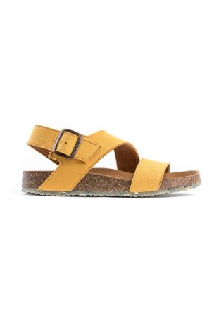 Zouri MUSTARD SEA wegańskie sandały
