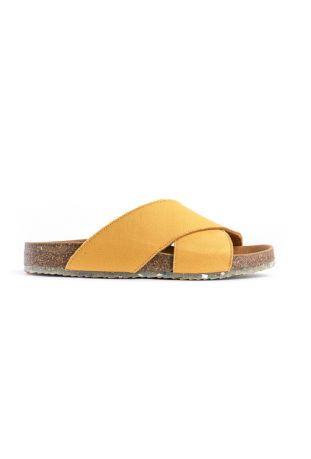 Zouri MUSTARD SUN wegańskie sandały