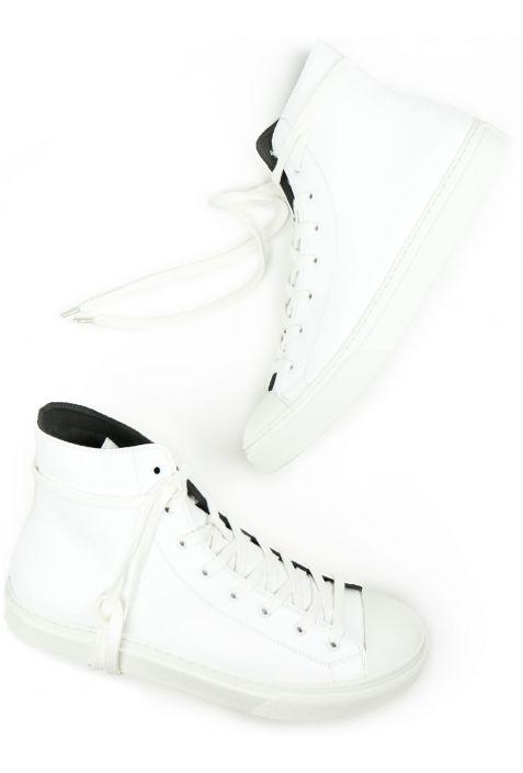 Will's Classic High-Top White Wegańskie Sneakersy Damskie