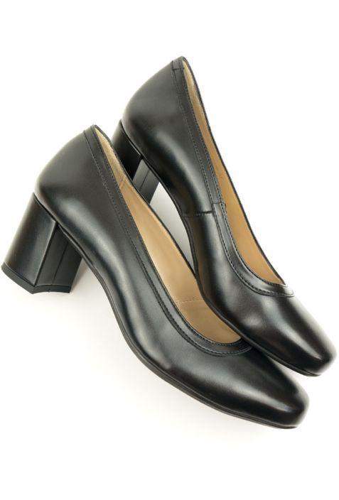 Will's Block Heels Black