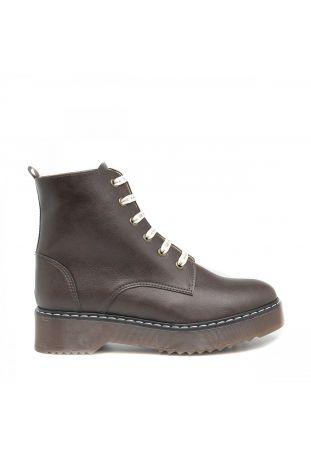 Nae Trina Brown wegańskie buty damskie